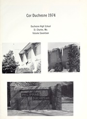 Page 5, 1974 Edition, Duchesne High School - Cor Duchesne Yearbook (St Charles, MO) online yearbook collection