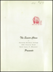 Page 5, 1949 Edition, Christian Brothers College High School - Guidon Yearbook (St Louis, MO) online yearbook collection