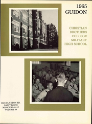 Page 7, 1965 Edition, Christian Brothers College High School - Guidon Yearbook (St Louis, MO) online yearbook collection