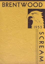 Page 1, 1933 Edition, Brentwood High School - Eagle Yearbook (Brentwood, MO) online yearbook collection