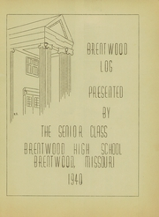 Page 3, 1940 Edition, Brentwood High School - Eagle Yearbook (Brentwood, MO) online yearbook collection