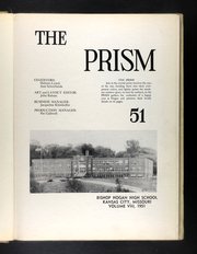 Page 5, 1951 Edition, Bishop Hogan High School - Prism Yearbook (Kansas City, MO) online yearbook collection