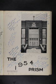 Page 5, 1954 Edition, Bishop Hogan High School - Prism Yearbook (Kansas City, MO) online yearbook collection