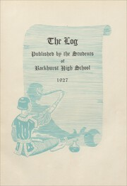 Page 7, 1927 Edition, Rockhurst High School - Chancellor Yearbook (Kansas City, MO) online yearbook collection