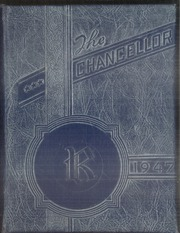 1947 Edition, Rockhurst High School - Chancellor Yearbook (Kansas City, MO)