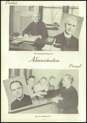Page 12, 1950 Edition, Rockhurst High School - Chancellor Yearbook (Kansas City, MO) online yearbook collection