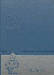 1982 Edition, Rockhurst High School - Chancellor Yearbook (Kansas City, MO)