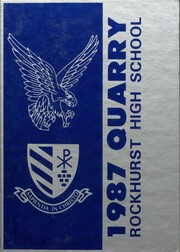 1987 Edition, Rockhurst High School - Chancellor Yearbook (Kansas City, MO)