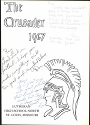 Page 7, 1967 Edition, Lutheran North High School - Crusader Yearbook (St Louis, MO) online yearbook collection