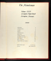 Page 5, 1970 Edition, Lexington High School - Minuteman Yearbook (Lexington, MO) online yearbook collection