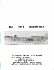 Page 5, 1974 Edition, Lexington High School - Minuteman Yearbook (Lexington, MO) online yearbook collection