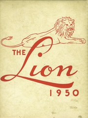 1950 Edition, Senath High School - Lion Yearbook (Senath, MO)