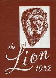 1952 Edition, Senath High School - Lion Yearbook (Senath, MO)