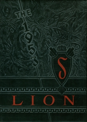1953 Edition, Senath High School - Lion Yearbook (Senath, MO)