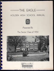 Page 3, 1950 Edition, Holden High School - Eagle Yearbook (Holden, MO) online yearbook collection