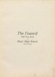 Page 7, 1930 Edition, Hayti High School - Centorian Yearbook (Hayti, MO) online yearbook collection