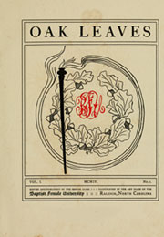 Page 7, 1904 Edition, Meredith College - Oak Leaves Yearbook (Raleigh, NC) online yearbook collection