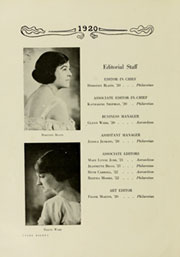 Page 12, 1920 Edition, Meredith College - Oak Leaves Yearbook (Raleigh, NC) online yearbook collection