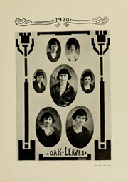 Page 13, 1920 Edition, Meredith College - Oak Leaves Yearbook (Raleigh, NC) online yearbook collection