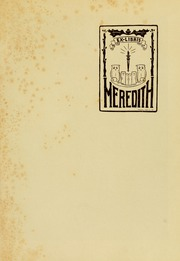 Page 5, 1927 Edition, Meredith College - Oak Leaves Yearbook (Raleigh, NC) online yearbook collection