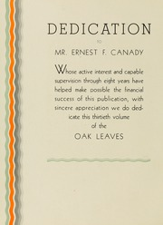 Page 10, 1933 Edition, Meredith College - Oak Leaves Yearbook (Raleigh, NC) online yearbook collection