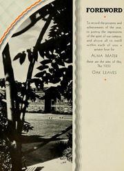Page 8, 1933 Edition, Meredith College - Oak Leaves Yearbook (Raleigh, NC) online yearbook collection