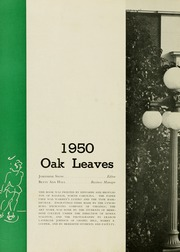 Page 6, 1950 Edition, Meredith College - Oak Leaves Yearbook (Raleigh, NC) online yearbook collection