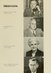 Page 15, 1951 Edition, Meredith College - Oak Leaves Yearbook (Raleigh, NC) online yearbook collection