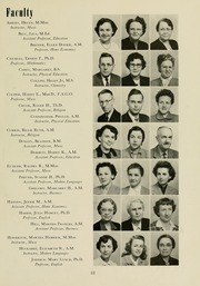 Page 17, 1951 Edition, Meredith College - Oak Leaves Yearbook (Raleigh, NC) online yearbook collection