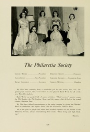Page 130, 1953 Edition, Meredith College - Oak Leaves Yearbook (Raleigh, NC) online yearbook collection