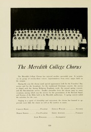 Page 132, 1953 Edition, Meredith College - Oak Leaves Yearbook (Raleigh, NC) online yearbook collection