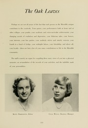 Page 137, 1953 Edition, Meredith College - Oak Leaves Yearbook (Raleigh, NC) online yearbook collection