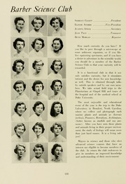 Page 142, 1953 Edition, Meredith College - Oak Leaves Yearbook (Raleigh, NC) online yearbook collection
