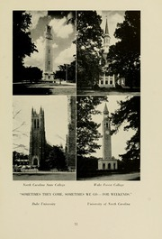 Page 15, 1953 Edition, Meredith College - Oak Leaves Yearbook (Raleigh, NC) online yearbook collection