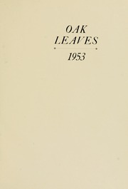 Page 5, 1953 Edition, Meredith College - Oak Leaves Yearbook (Raleigh, NC) online yearbook collection