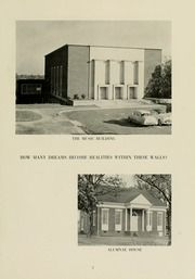 Page 11, 1956 Edition, Meredith College - Oak Leaves Yearbook (Raleigh, NC) online yearbook collection