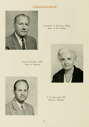 Page 16, 1956 Edition, Meredith College - Oak Leaves Yearbook (Raleigh, NC) online yearbook collection