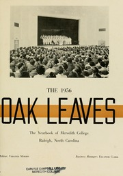 Page 5, 1956 Edition, Meredith College - Oak Leaves Yearbook (Raleigh, NC) online yearbook collection