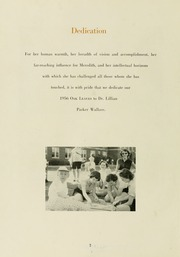 Page 6, 1956 Edition, Meredith College - Oak Leaves Yearbook (Raleigh, NC) online yearbook collection