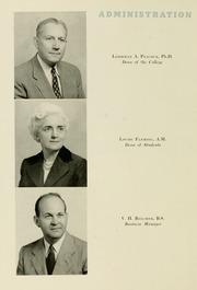 Page 16, 1957 Edition, Meredith College - Oak Leaves Yearbook (Raleigh, NC) online yearbook collection