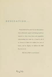 Page 7, 1957 Edition, Meredith College - Oak Leaves Yearbook (Raleigh, NC) online yearbook collection