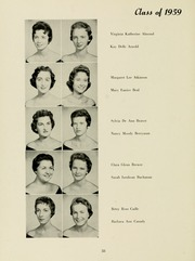 Page 62, 1958 Edition, Meredith College - Oak Leaves Yearbook (Raleigh, NC) online yearbook collection