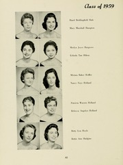 Page 66, 1958 Edition, Meredith College - Oak Leaves Yearbook (Raleigh, NC) online yearbook collection