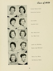 Page 68, 1958 Edition, Meredith College - Oak Leaves Yearbook (Raleigh, NC) online yearbook collection