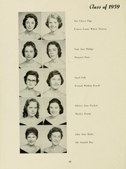 Page 70, 1958 Edition, Meredith College - Oak Leaves Yearbook (Raleigh, NC) online yearbook collection