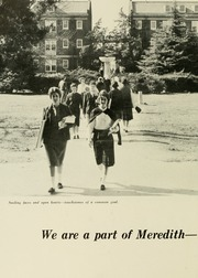Page 10, 1960 Edition, Meredith College - Oak Leaves Yearbook (Raleigh, NC) online yearbook collection