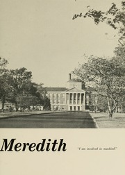 Page 9, 1960 Edition, Meredith College - Oak Leaves Yearbook (Raleigh, NC) online yearbook collection