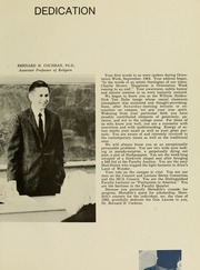 Page 17, 1968 Edition, Meredith College - Oak Leaves Yearbook (Raleigh, NC) online yearbook collection