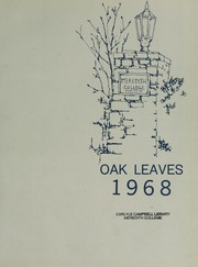 Page 7, 1968 Edition, Meredith College - Oak Leaves Yearbook (Raleigh, NC) online yearbook collection