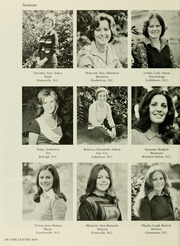 Page 44, 1976 Edition, Meredith College - Oak Leaves Yearbook (Raleigh, NC) online yearbook collection
